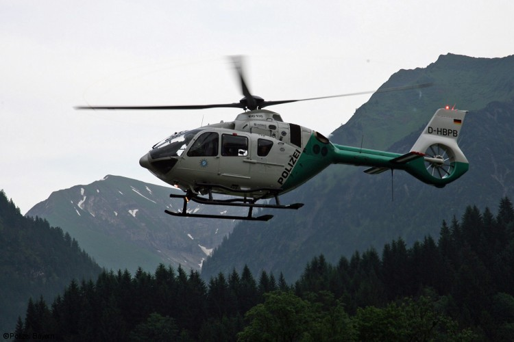 H135 helicopter