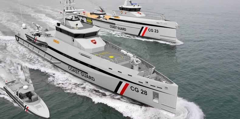 Damen patrol boats