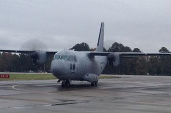 C 27J aircraft