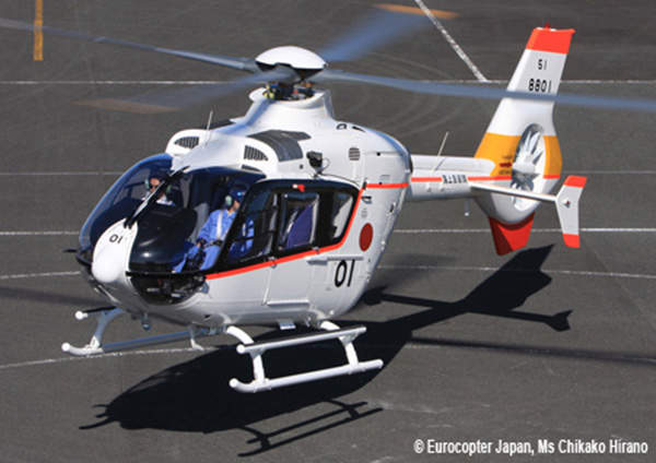 Eurocopter EC135 is a multimission helicopter capable of conducting homeland security, law enforcement, passenger transport, search and rescue (SAR) and emergency medical service operations. Image courtesy of ©Eurocopter, Charles Abarr.