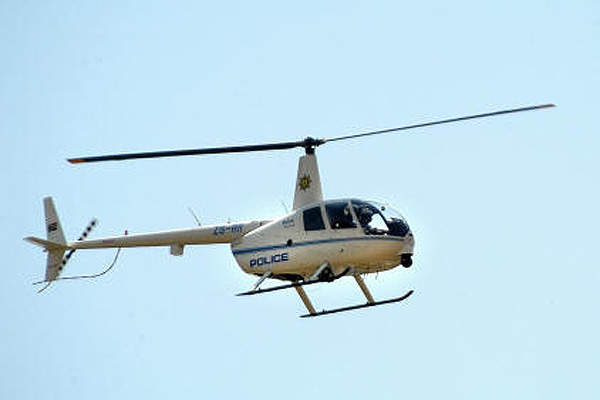 The Robinson R44 Raven II Police Helicopter is an ideal platform for all sizes of law enforcement agencies. Image courtesy of South African Air Force.