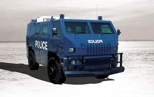 Maverick is an Internal Security Vehicle (ISV) intended for crowd control, public order and patrol missions.