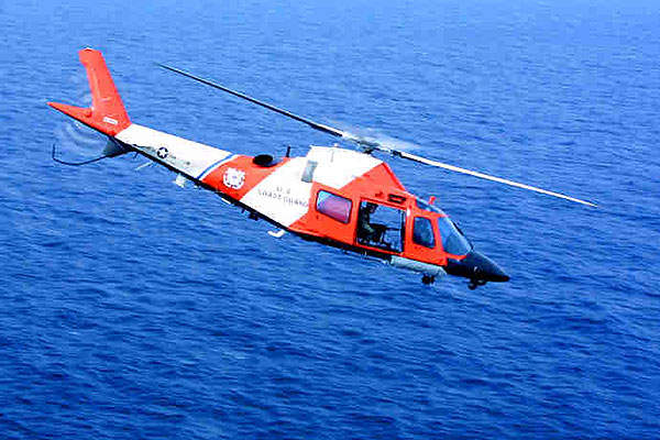 The United States Coast Guard operates eight AW109 Power/MH-68A Stingray helicopters.