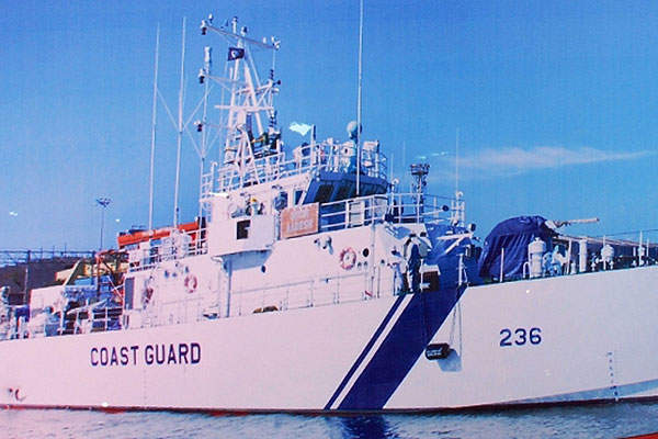 The new 50m-long indigenous Fast Patrol Vessels (FPVs) are operated by the Indian Coast Guard.