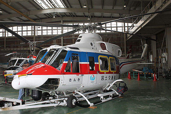 The Bell 412 flies at a maximum continuous cruise speed of 245km/h. Image courtesy of Jerry Gunner from Lincoln, UK.