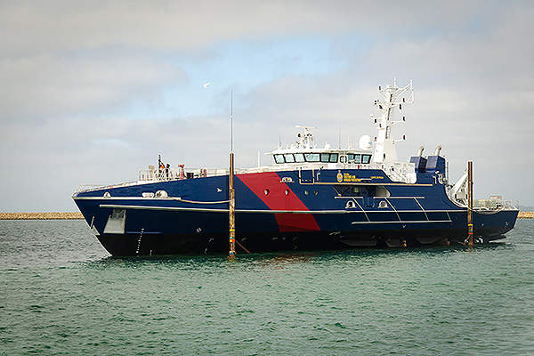 The second vessel in the class, Cape Byron, was launched in January 2014.