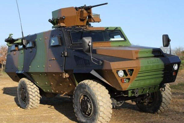 Bastion APC is a wheeled light armoured reconnaissance and infantry vehicle.