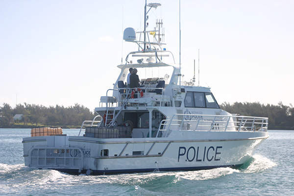 The 16m patrol boat was officially launched by the Bermuda Marine Police Service in December 2006. Image courtesy of Bermuda Water Police Service.