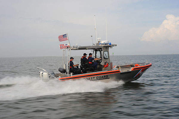 Special Purpose Craft - Shallow Water (SPC-SW) is a multi-mission in-shore patrol craft developed for the US Coast Guard. Image courtesy of Coast Guard News.