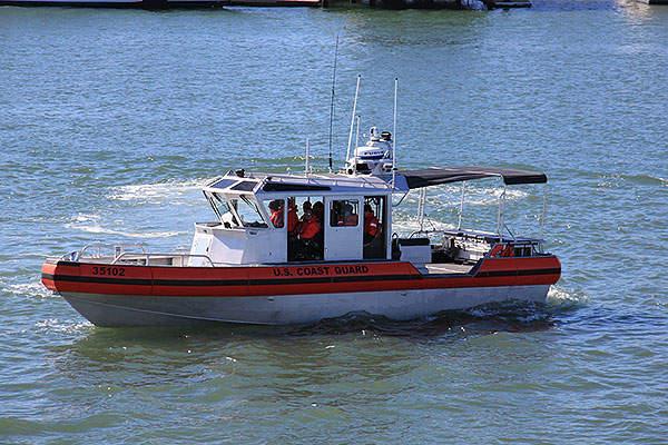The LRI-II cutter boats are under construction for the US Coast Guard (USCG). Image courtesy of U.S. Coast Guard.