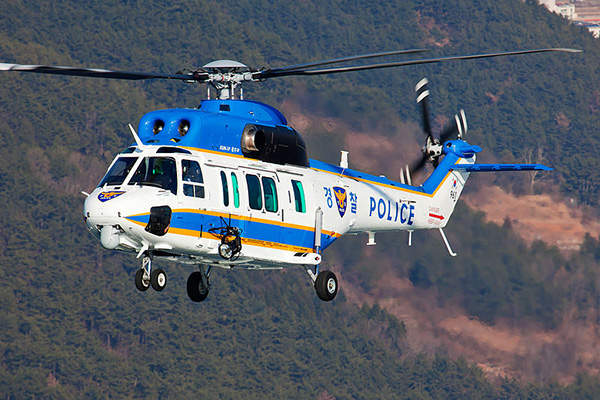 The KAI Surion police helicopter is developed for the Korean National Police Agency (KNPA). Image courtesy of Korea Aerospace Industries.