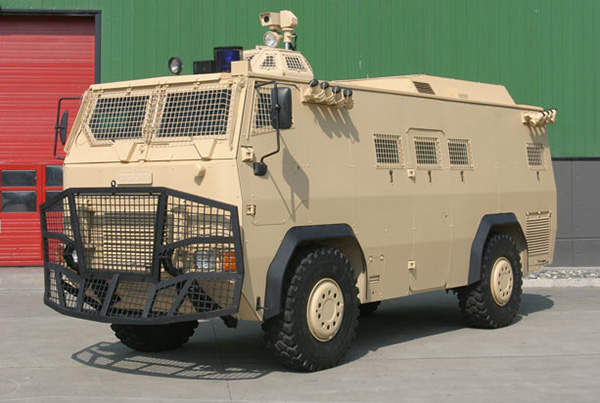Otokar Armoured Internal Security Vehicle (IS-V) is intended for homeland security missions.