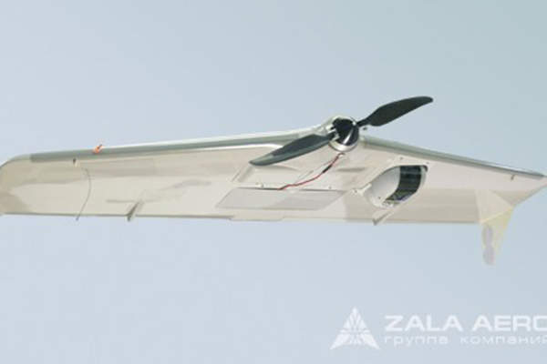 The ZALA 421-08M unmanned aerial vehicle is designed by ZALA Aero Group.