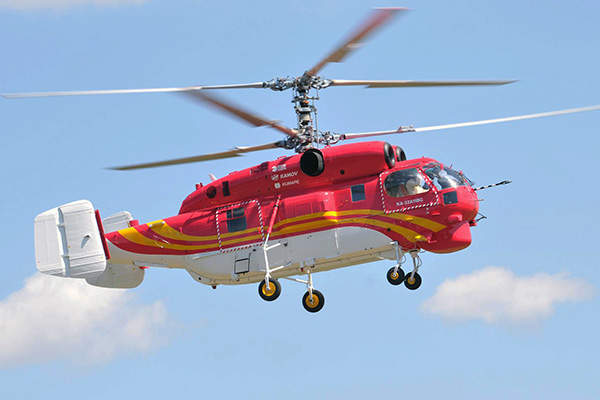 The Ka-32A11BC multi-role helicopter is designed by Kamov Design Bureau. Image: courtesy of Russian Нelicopters, JSC.