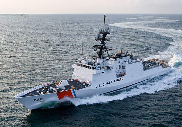 The Legend-Class National Security Cutters (NSCs) are being built by Huntington Ingalls Industries for the US Coast Guard (USCG). Image courtesy of Huntington Ingalls Industries.