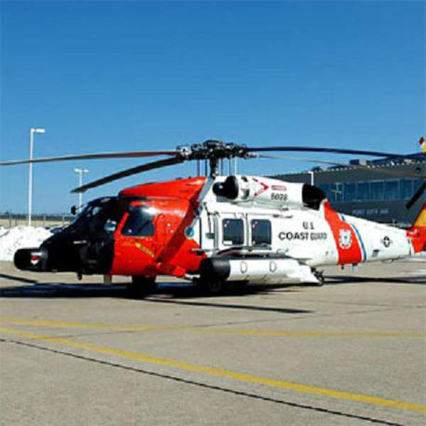 The MH-60T is an upgraded version of the MH-60J Medium Range Recovery (MRR) helicopter. Image courtesy of the US Coast Guard.