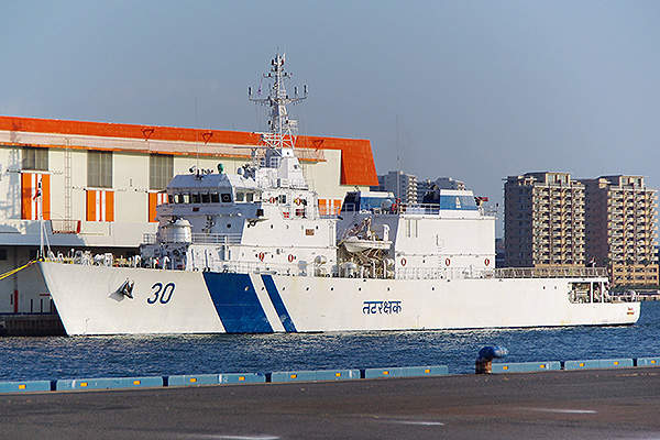 The Vishwast Class offshore patrol vessels are in service with the Indian Coast Guard (ICG). Image courtesy of J o.
