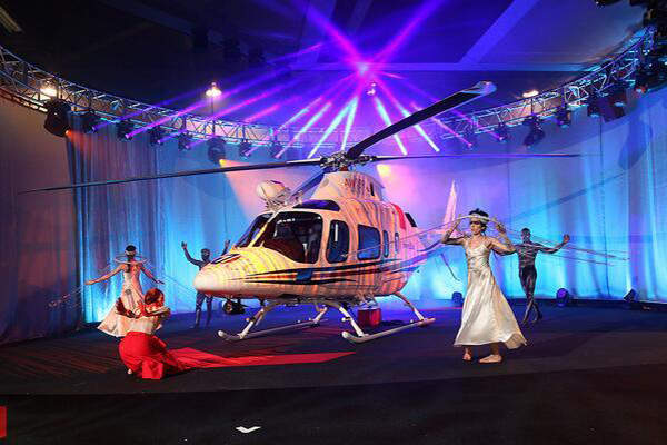 The AW109 Trekker was unveiled at Heli Expo 2014. Image courtesy of AgustaWestland.
