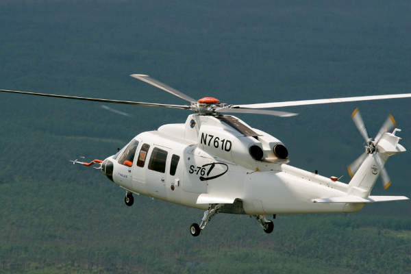 The S-76D SAR (Search and Rescue) helicopter can conduct SAR operations within the range of 834km. Copyright Sikorsky Aircraft Corporation. All rights reserved.