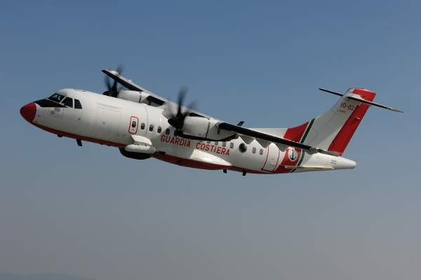 The ATR 42 MP is a maritime patrol variant based on the ATR 42 commercial aircraft.