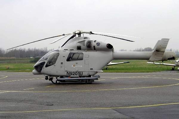 The MD Explorer is a twin-engine multimission helicopter.