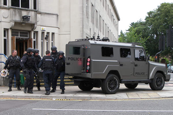 The CROSSWAY Multi Role Armoured Vehicle has been selected by two UK police forces.