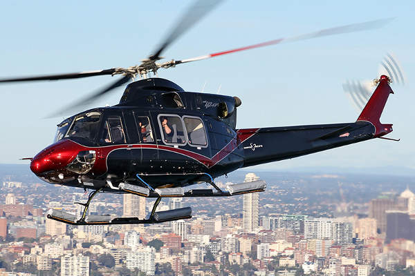 The Bell 412EPI twin-engine helicopter was introduced in March 2013. Image: courtesy of Bell Helicopter Textron Inc.