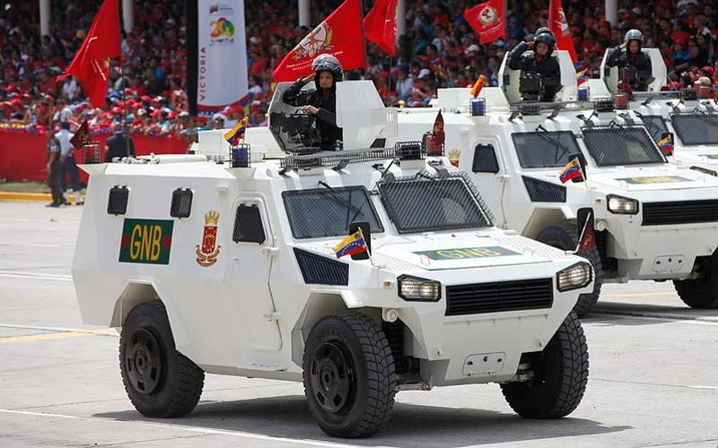 The VN4 wheeled armoured vehicle is developed by China North Industries Corporation. Image courtesy of Cancillería del Ecuador.