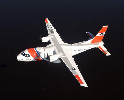 HC-144A Ocean Sentry is a new medium-range surveillance aircraft of the US Coast Guard (USCG). Image courtesy of USCG photo / Dave Silva.