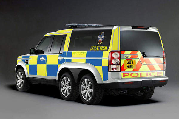 The SUV 600 vehicle was unveiled at the Emergency Services Show 2013. Image: courtesy of Supacat Limited.