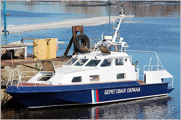 The Project 21850 Chibis light frontier boat is built by Vympel Shipyard JSC. Image: courtesy of Vympel Shipyard JSC.