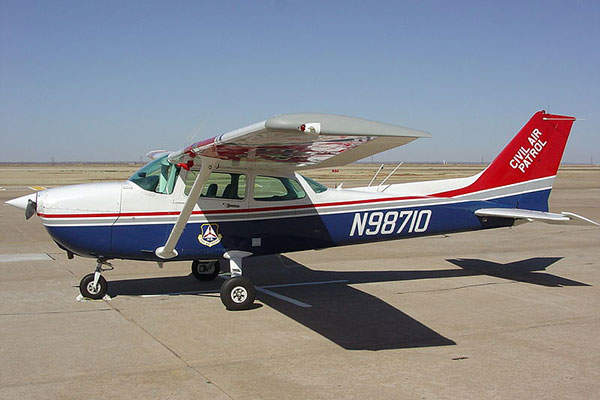 The Skyhawk 172 training aircraft is manufactured by Cessna Aircraft Company.