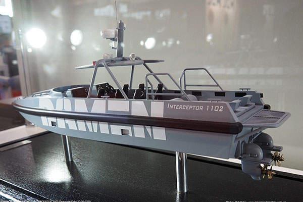 The Damen Interceptor 1102 is developed by Damen Shipyards. Image: courtesy of Piet Sinke – www.maasmondmaritime.com (c).