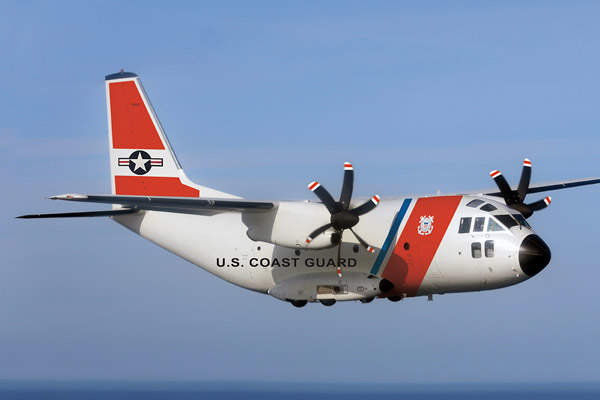 The HC-27J fixed-wing aircraft is the latest addition to the USCG's medium-range surveillance aircraft fleet. Image courtesy of C-27J RIGHT FOR THE MISSION.