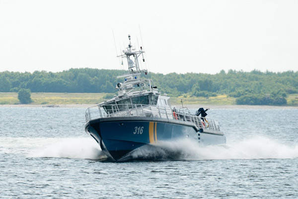 Baltic 2403 Patrol is a fast patrol vessel from Baltic Workboats. Image courtesy of Baltic Workboats AS.