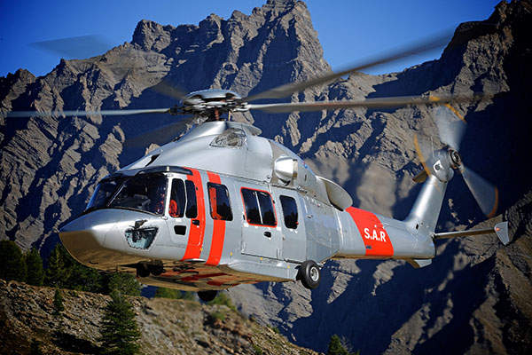 The H175 twin-engine helicopter was developed by Airbus Helicopters. Image: courtesy of Anthony Pecchi.