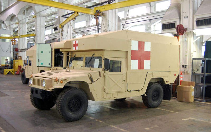 The M997A3 tactical ambulance is being built for the US Army National Guard. Image courtesy of Matthew Schlabach.