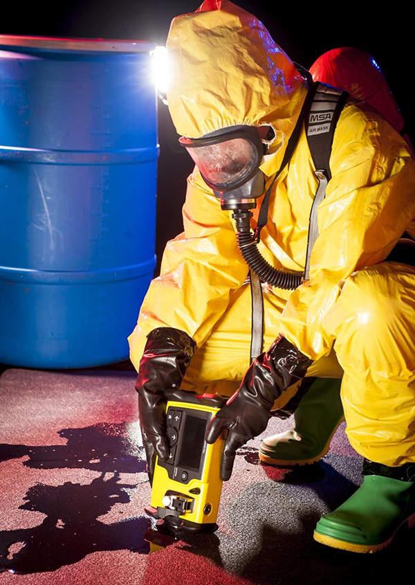 HazMatID Elite can detect explosives, chemical warfare agents, toxic industrials and narcotics.