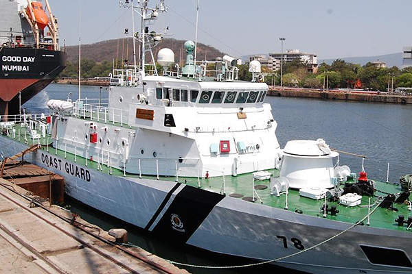 ICGS Rani Avantibai is the second ship in class of five Inshore Patrol Vessels (IPVs). Image courtesy of Hindustan Shipyard Limited.