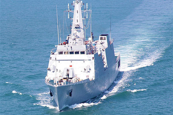INS Saryu was delivered to the Indian Navy in December 2012. Image courtesy of Goa Shipyard Ltd.