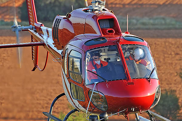 The AS355 NP Ecureuil is an ideal helicopter for homeland security, law enforcement and parapublic missions. Image courtesy of anthony pecchi