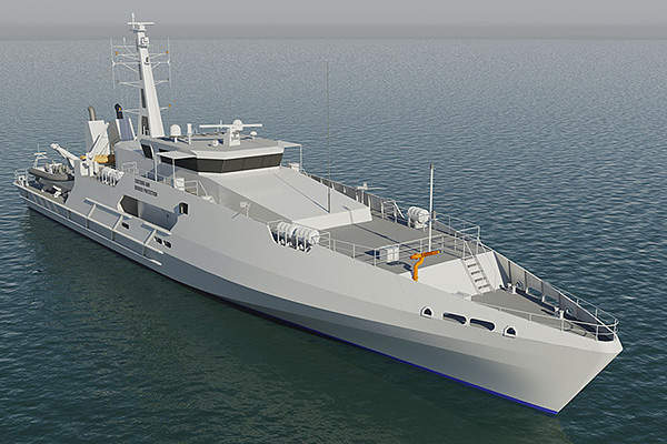 The Cape Class patrol boats are being built for the Australian Customs and Border Protection Service.
