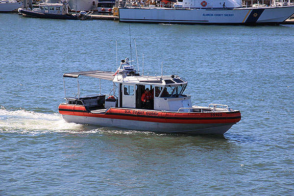 The LRI-II can accommodate a crew of five and up to 10 passengers. Image courtesy of U.S. Coast Guard.
