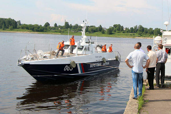 The MANGUST fast patrol boat has a maximum speed of 50kt. Image courtesy of Vympel Shipyard JSC.