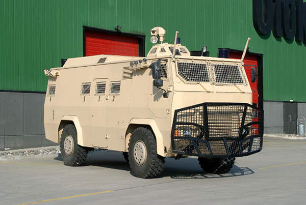 Otokar Armoured Internal Security Vehicle (IS-V) can accommodate 13 forces and their equipment.