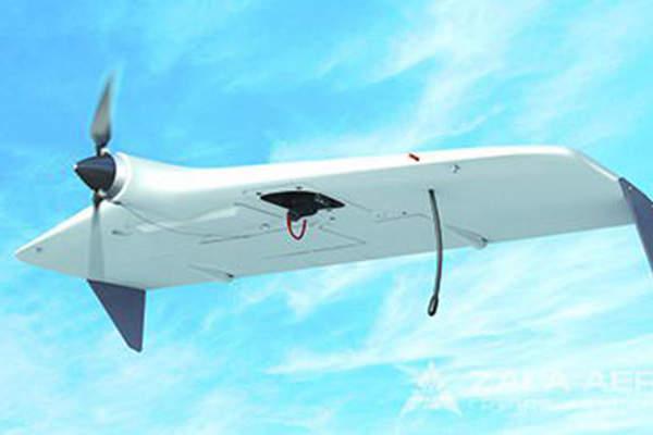 The ZALA 421-08M UAV has a maximum take-off weight of 2.5kg.