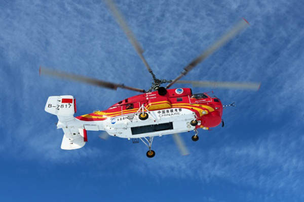 The Shanghai Public Security Directorate in China received a Ka-32A11BC helicopter in April 2014. Image: courtesy of Russian Нelicopters, JSC.