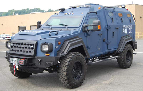 Gurkha vehicles are in service with several police forces and special operations units across the world. Image courtesy Terradyne Armored Vehicles Inc.