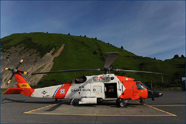 The MH-60T recapitalisation programme will equip the helicopters with new avionics, communications and navigation systems. Image courtesy of the US Coast Guard.