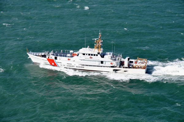 Bernard C. Webber is the lead ship of Sentinel Class Fast Response Cutter (FRC). Image courtesy of US Coast Guard, photo by Petty Officer 3rd Class Cory Rowland.